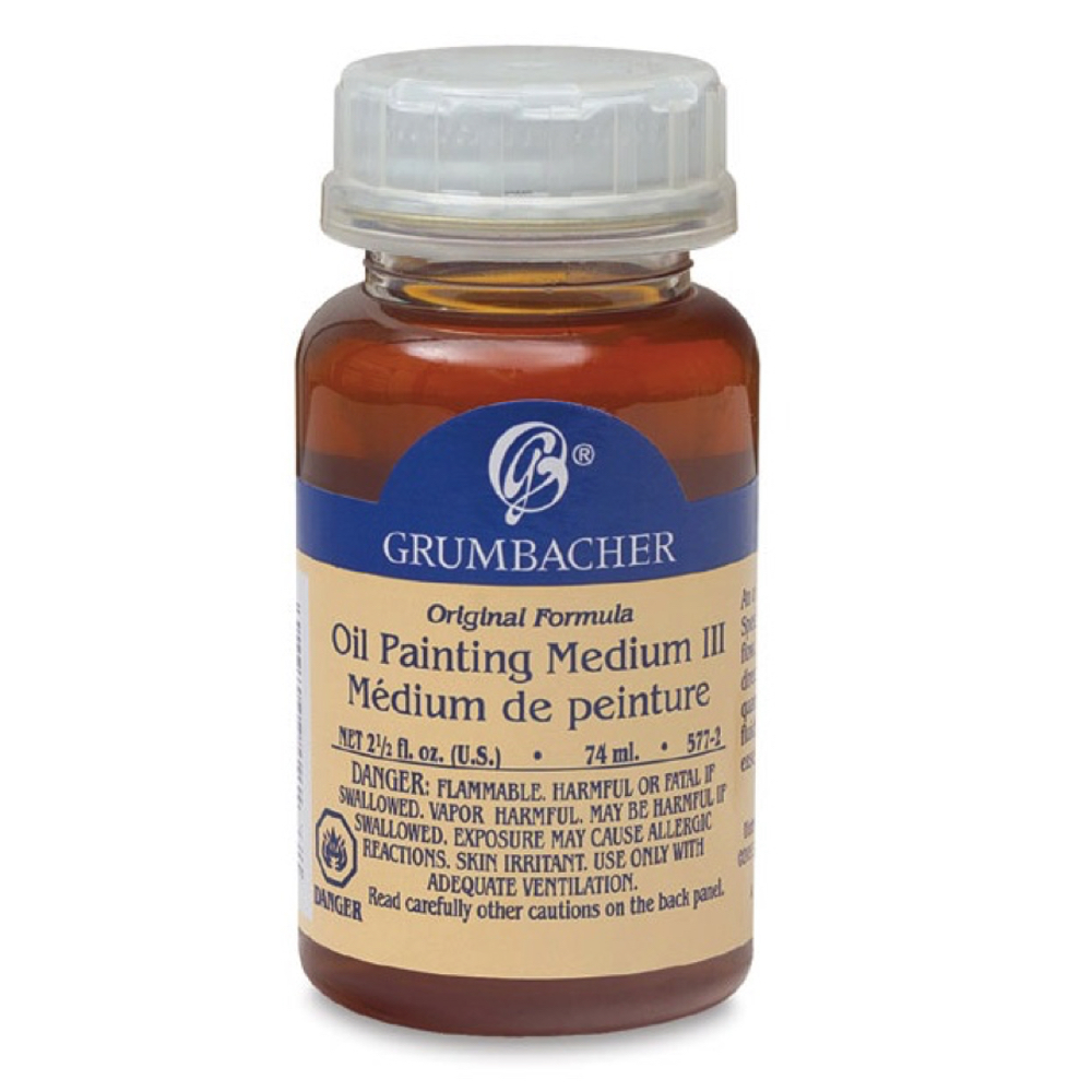 Grumbacher #3 Oil Painting Medium 2.5 Oz