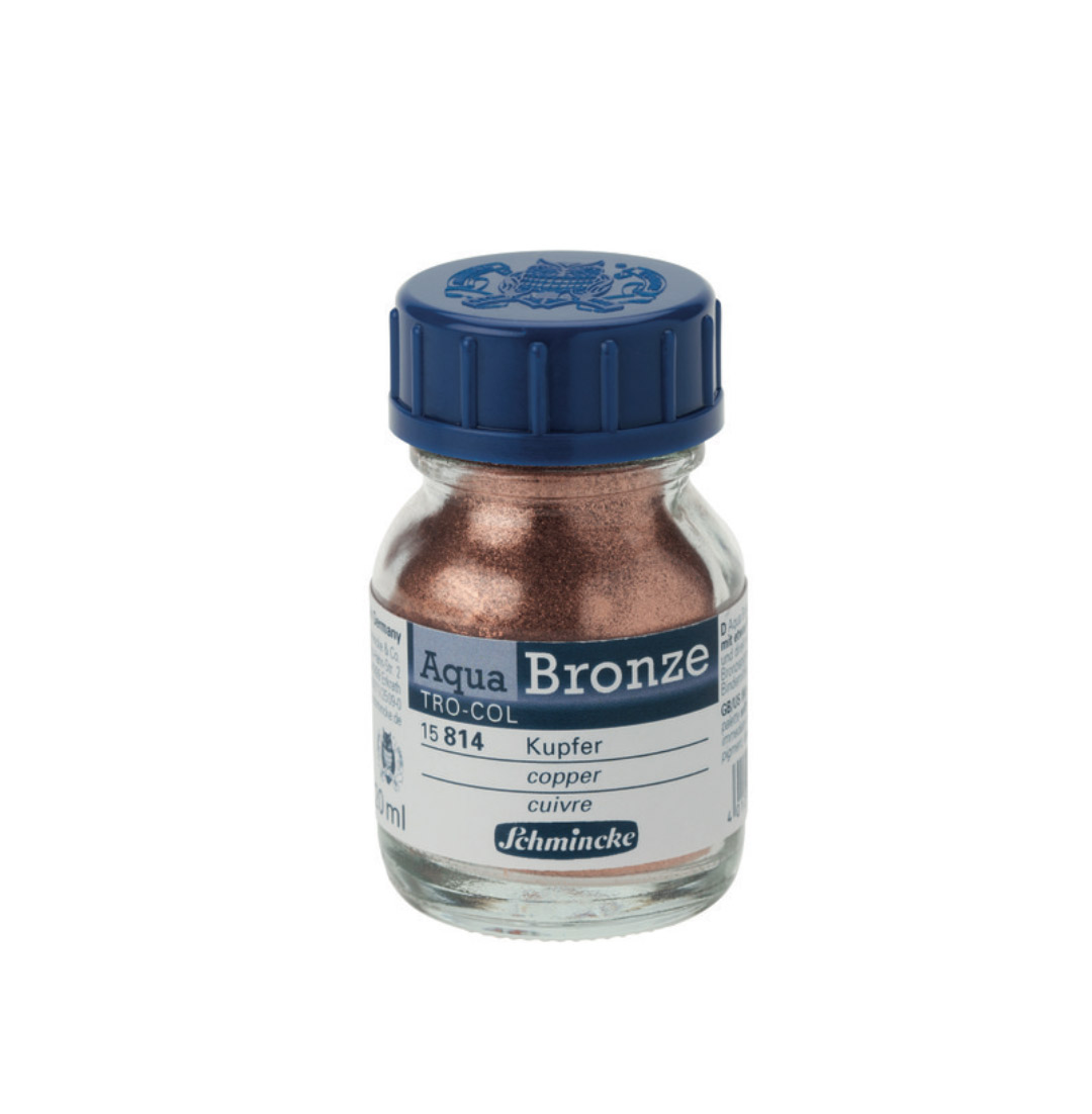 Schmincke Aqua Bronze Copper 20Ml