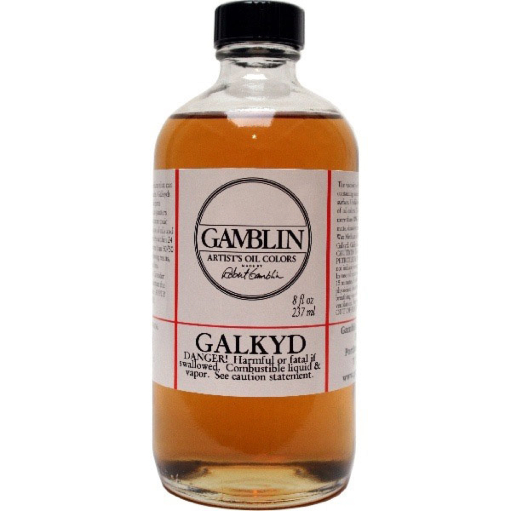 Gamblin Galkyd Medium 8 Oz *Orm-D