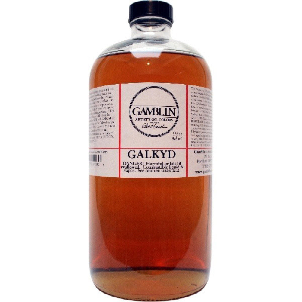 Gamblin Galkyd Medium 32 Oz *Orm-D