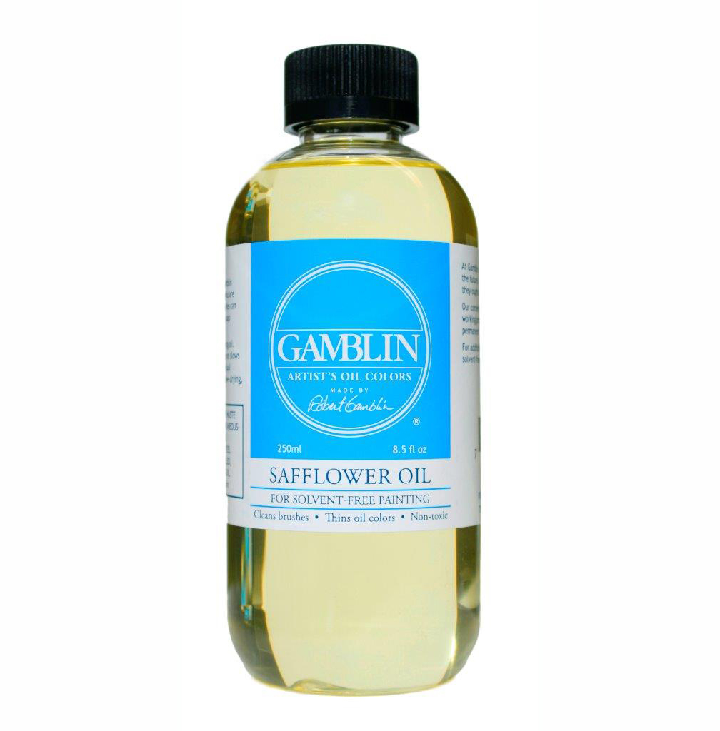Gamblin Safflower Oil 8Oz