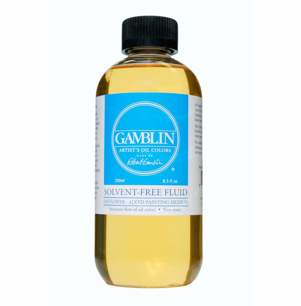 Gamblin Solvent Free Fluid 8Oz