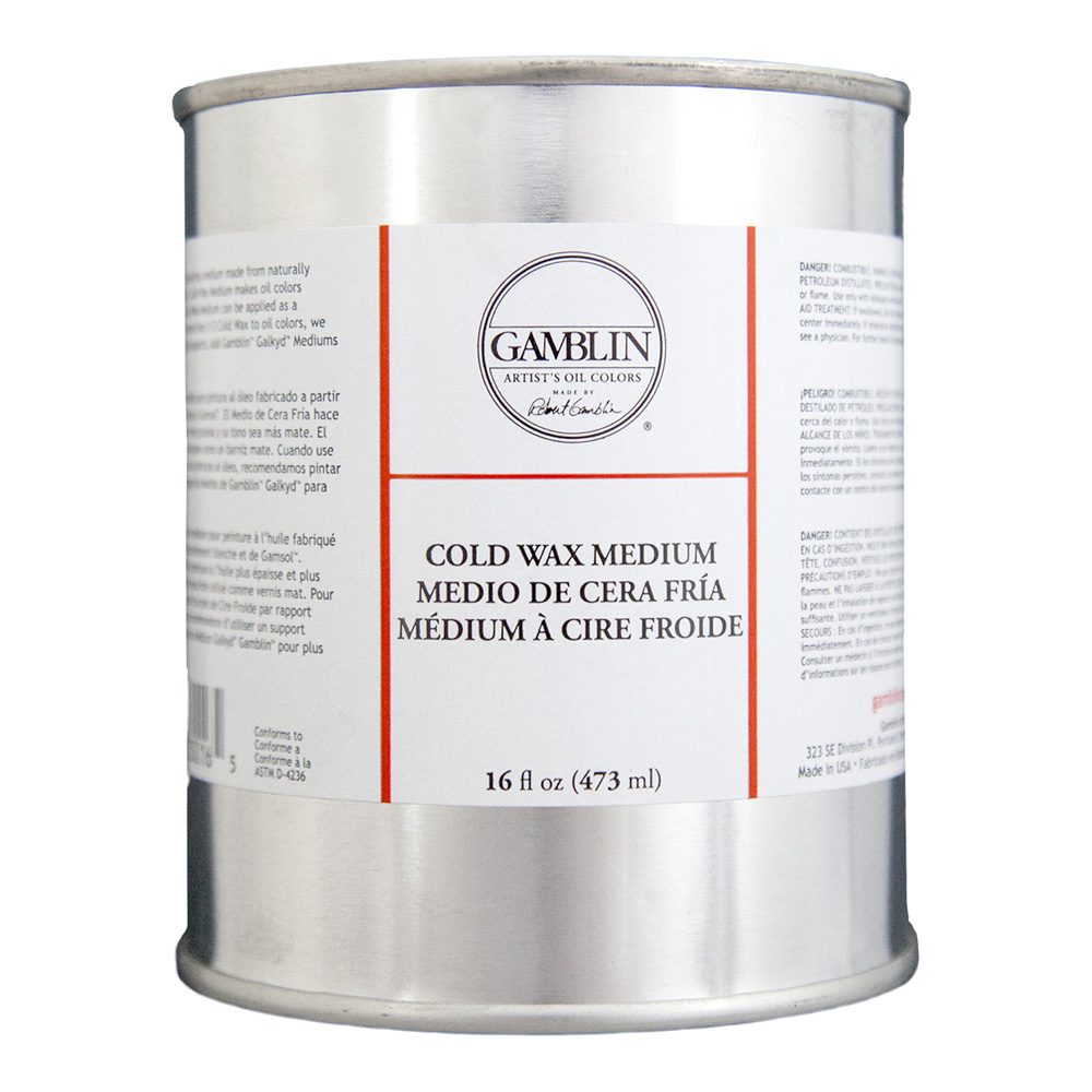 Gamblin Cold Wax Medium 16 Oz *Orm-D
