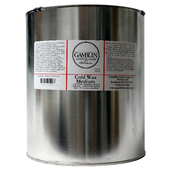 Gamblin Cold Wax Medium 128 Oz *Hz