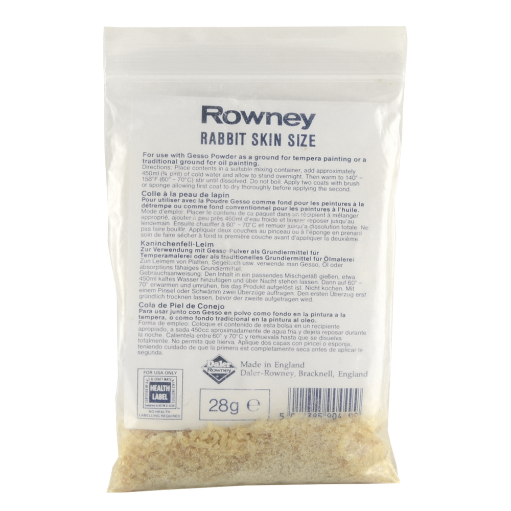 Rowney Rabbit Skin Glue 1 Oz