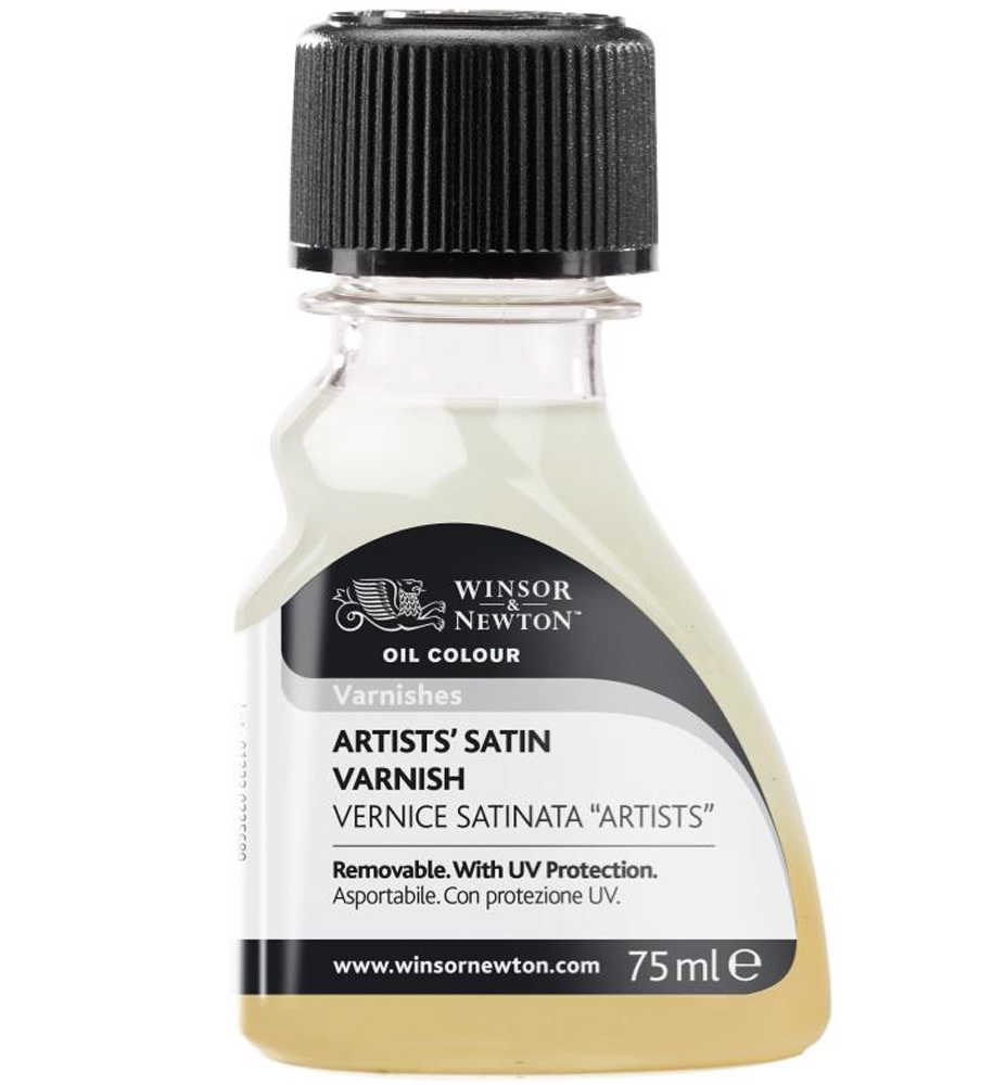 W&N Artists Satin Varnish 75Ml