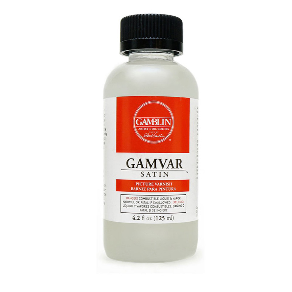 Gamblin Gamvar Pict Varnish 4 Oz Satin