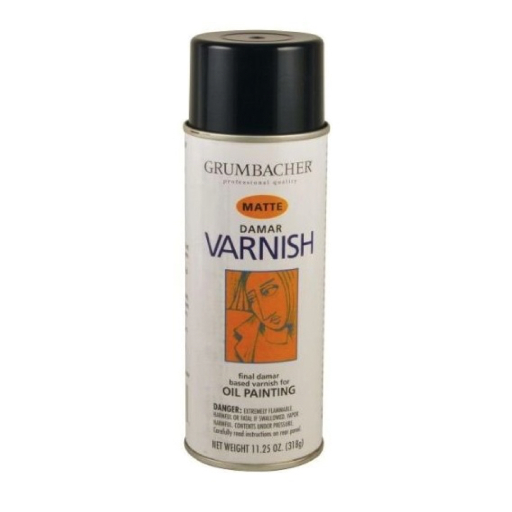Grum Damar Varnish Spray Matte 11.25 Oz