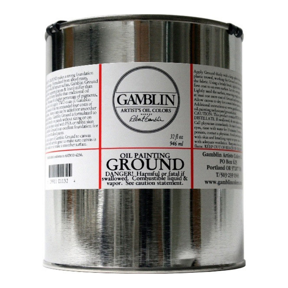 Gamblin Ground 32 Fl Oz *Orm-D