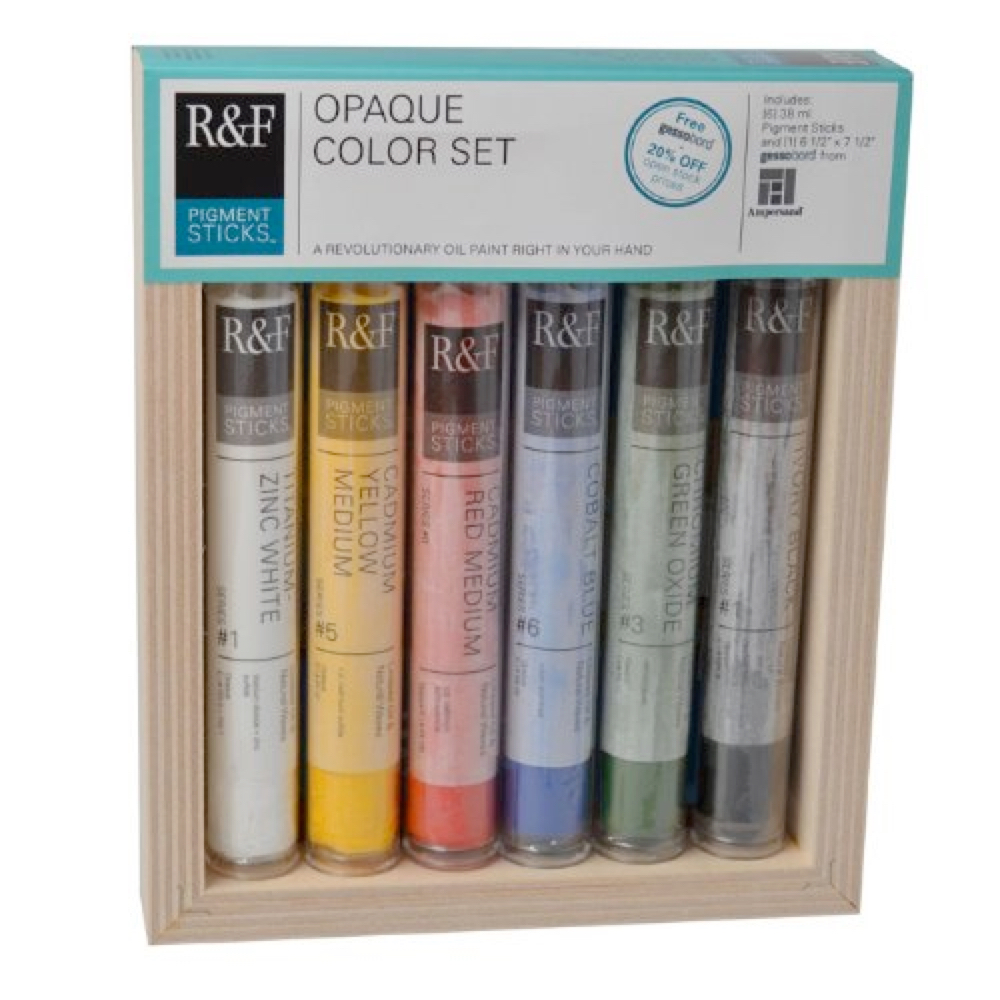 R&F Pigment Stick Opaque Color Set Of 6