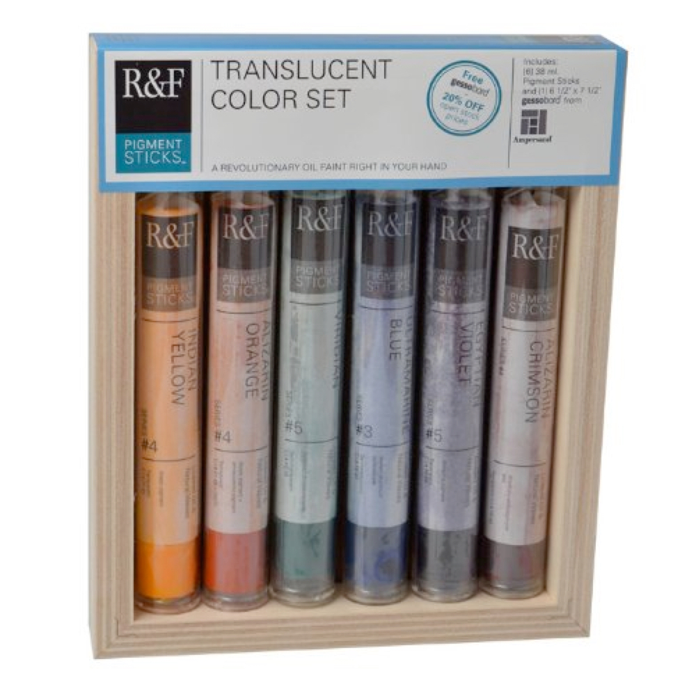 R&F Pigment Stick Translucent Color Set Of 6