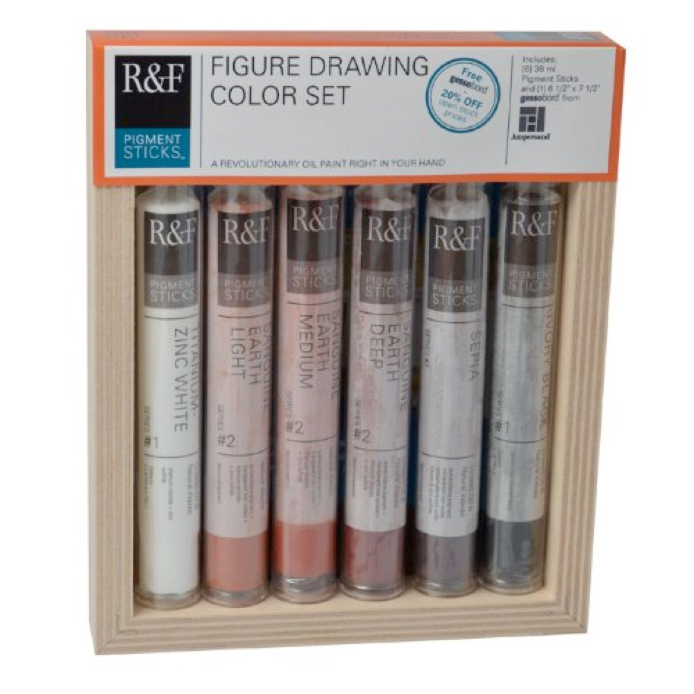 R&F Pigment Stick Figure Drawing Set Of 6