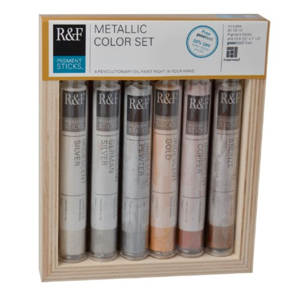 R&F Pigment Stick Metallic Color Set Of 6