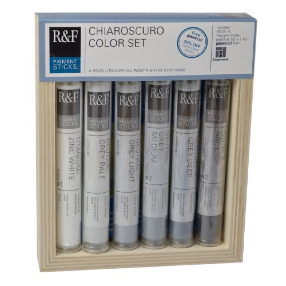 R&F Pigment Stick Chiaroscuro Set Of 6