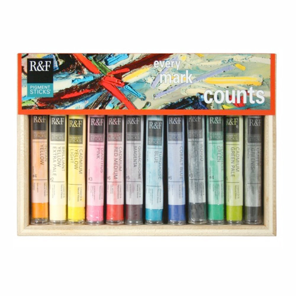 R&F Pigment Stick Painter's Dozen Set