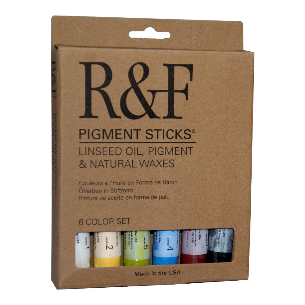 R&F Pigment Sticks Introductory Set of 6