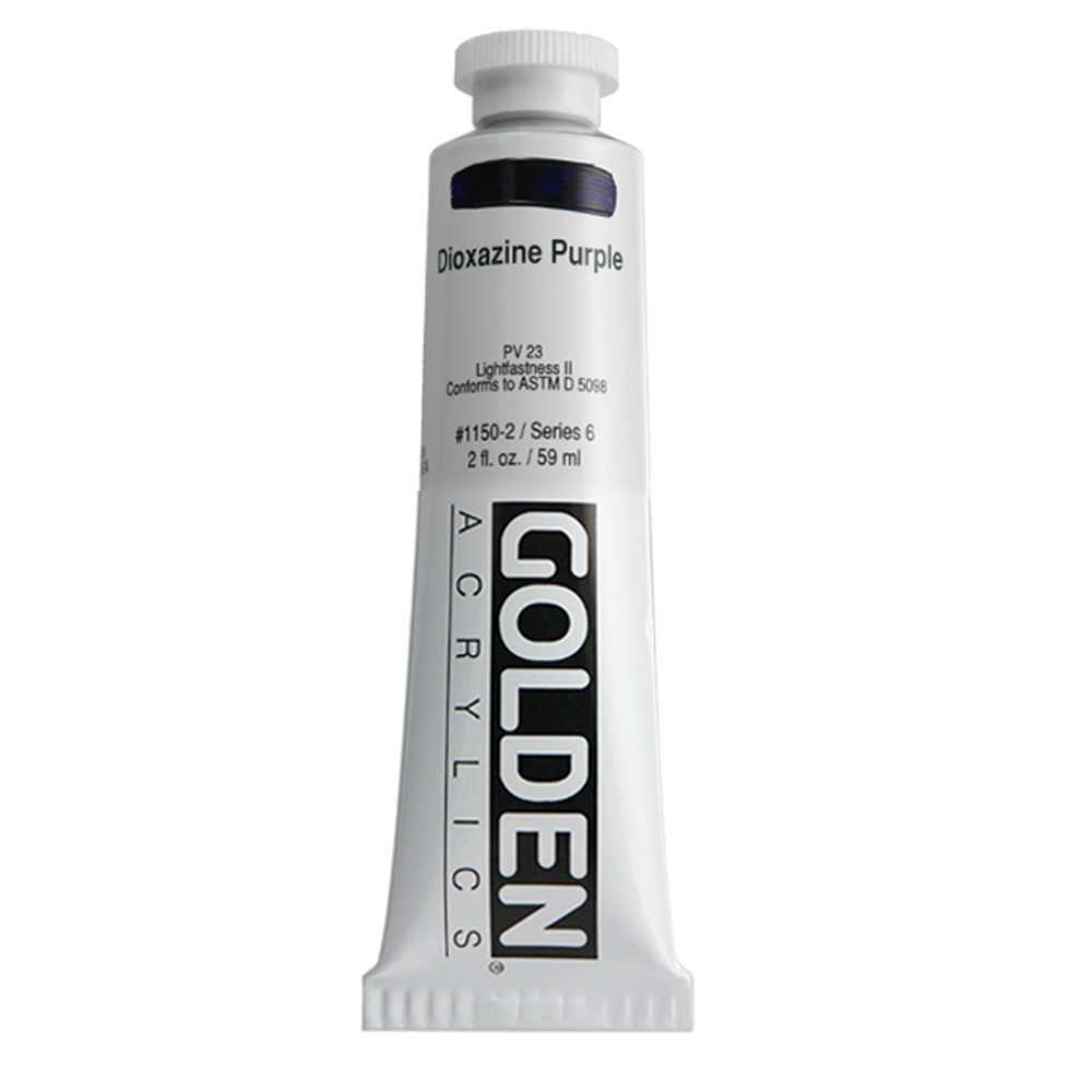 Golden Acrylic 2 Oz Dioxazine Purple