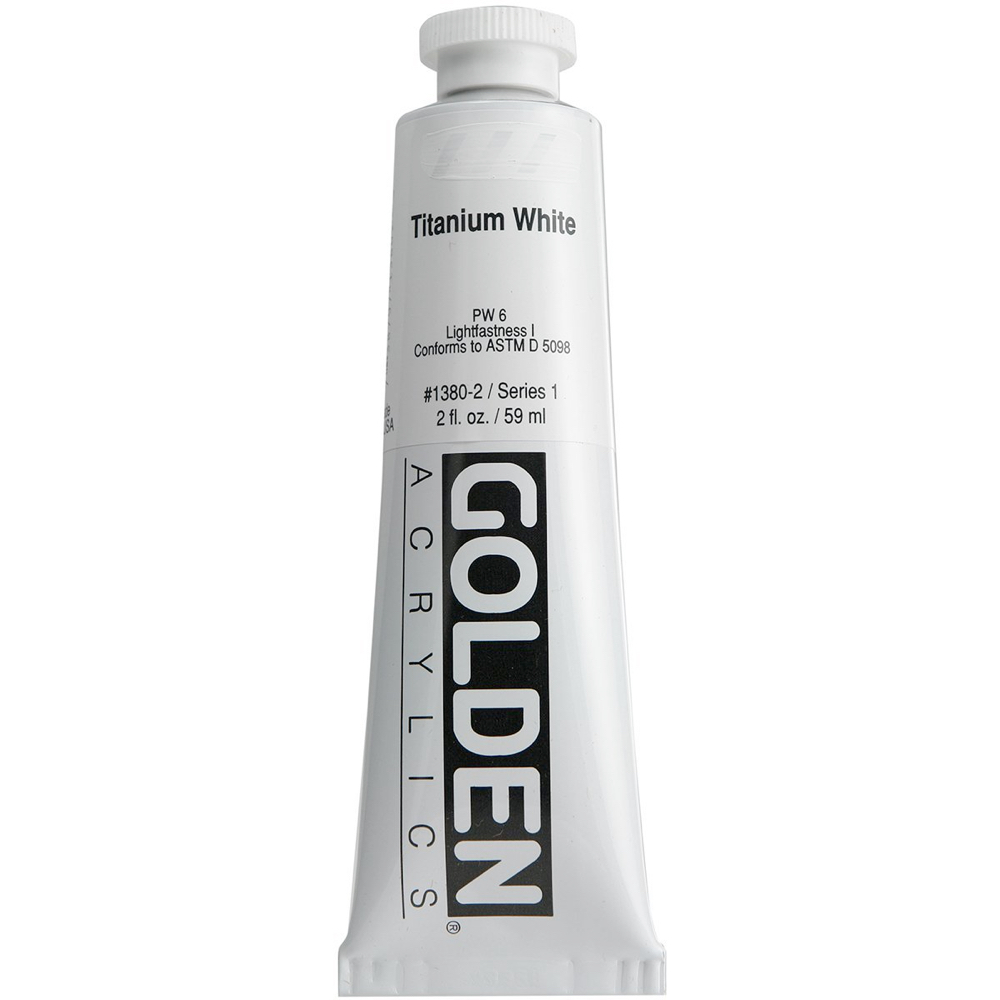 Golden Acrylic 2 Oz Titanium White