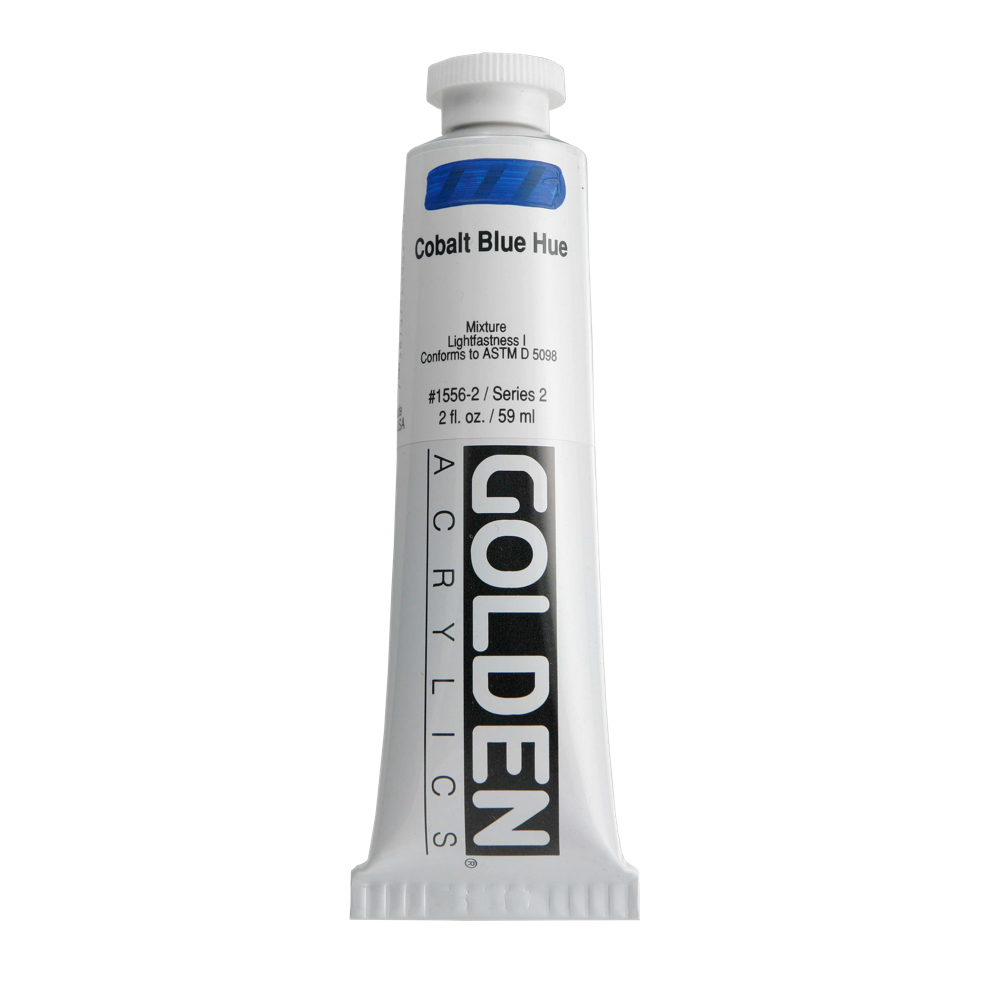 Golden Acrylic 2 Oz Cobalt Blue Hue
