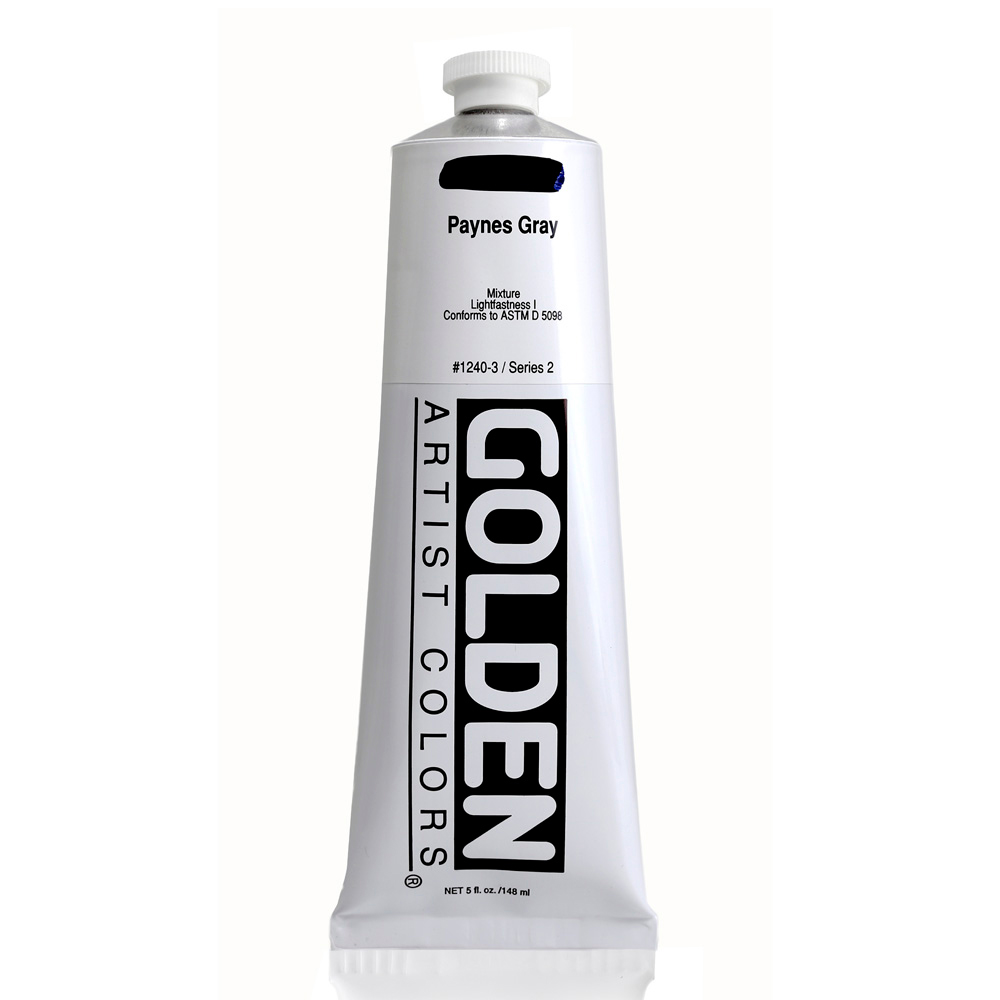 Golden Acrylic 5 Oz Paynes Gray