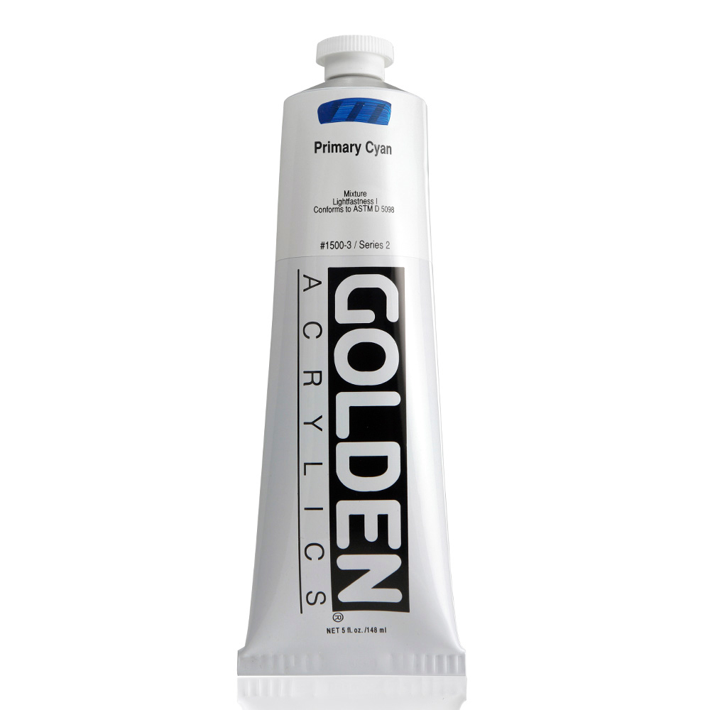 Golden Acrylic 5 Oz Primary Cyan