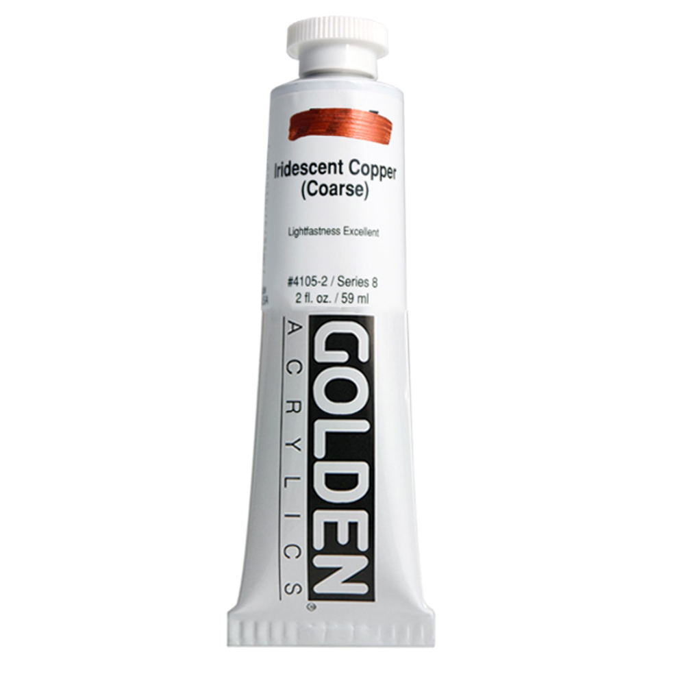 Golden Acrylic 2 Oz Iridescent Copper Coarse