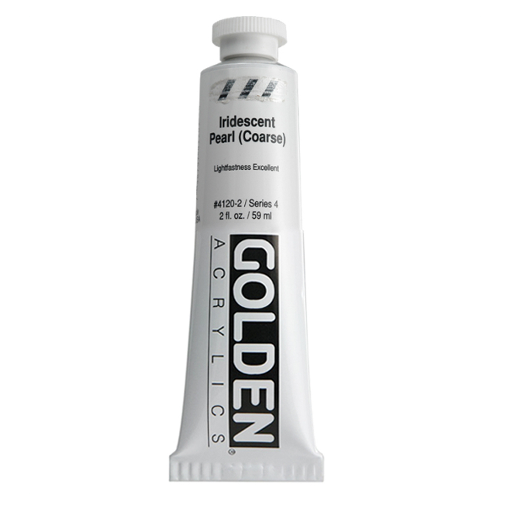 Golden Acrylic 2 Oz Iridescent Pearl Coarse