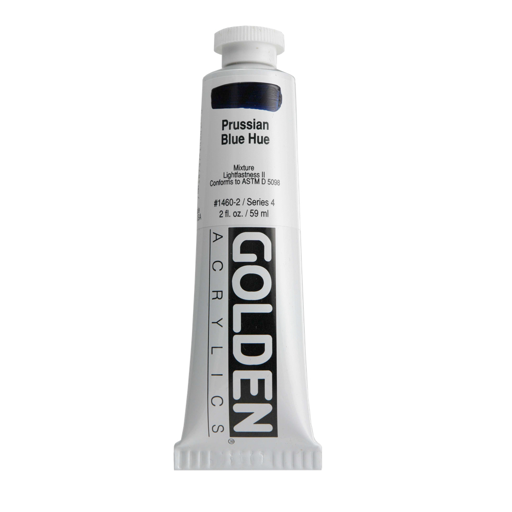 Golden Acrylic 2 Oz Prussian Blue Hue