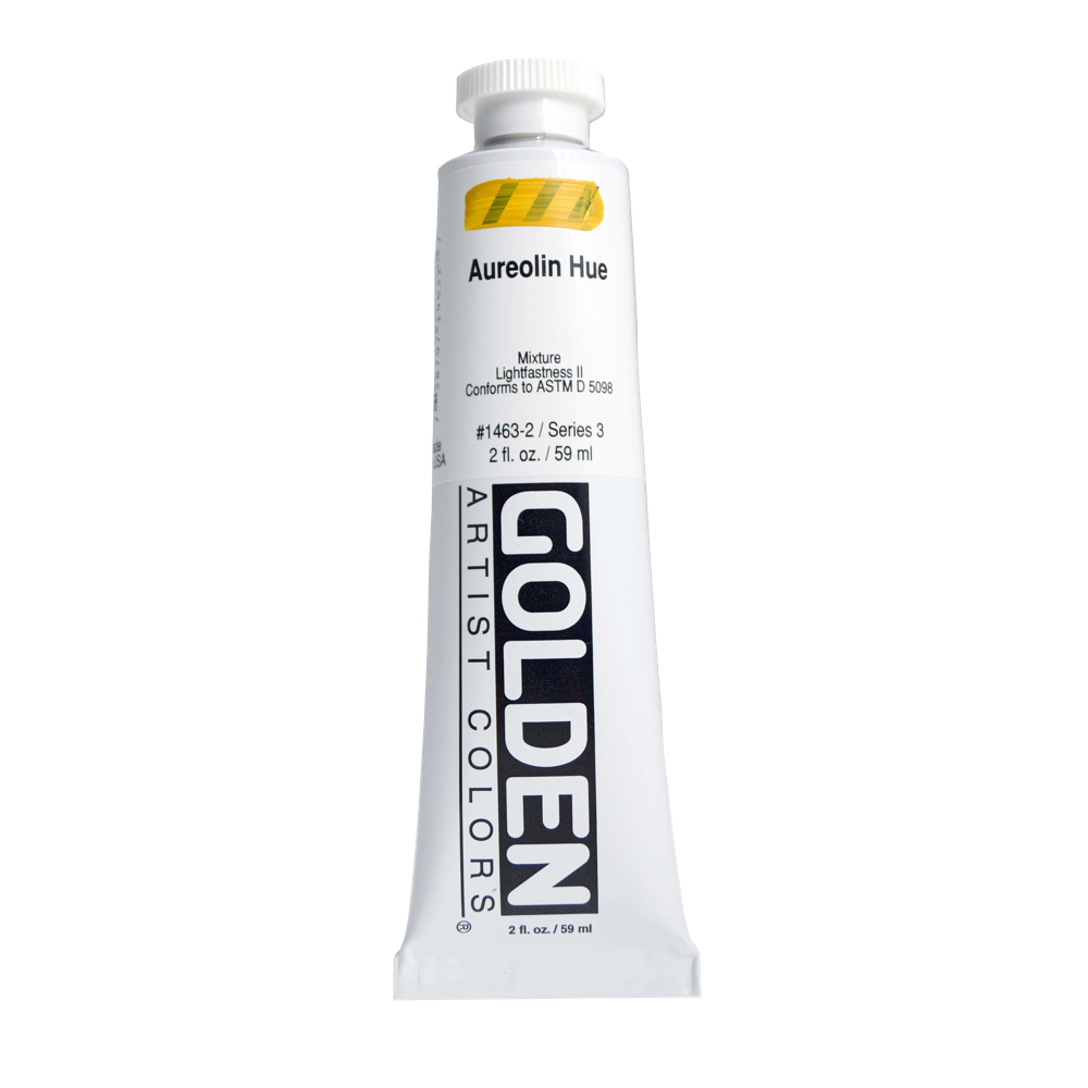 Golden Acrylic 2 Oz Aureolin Hue