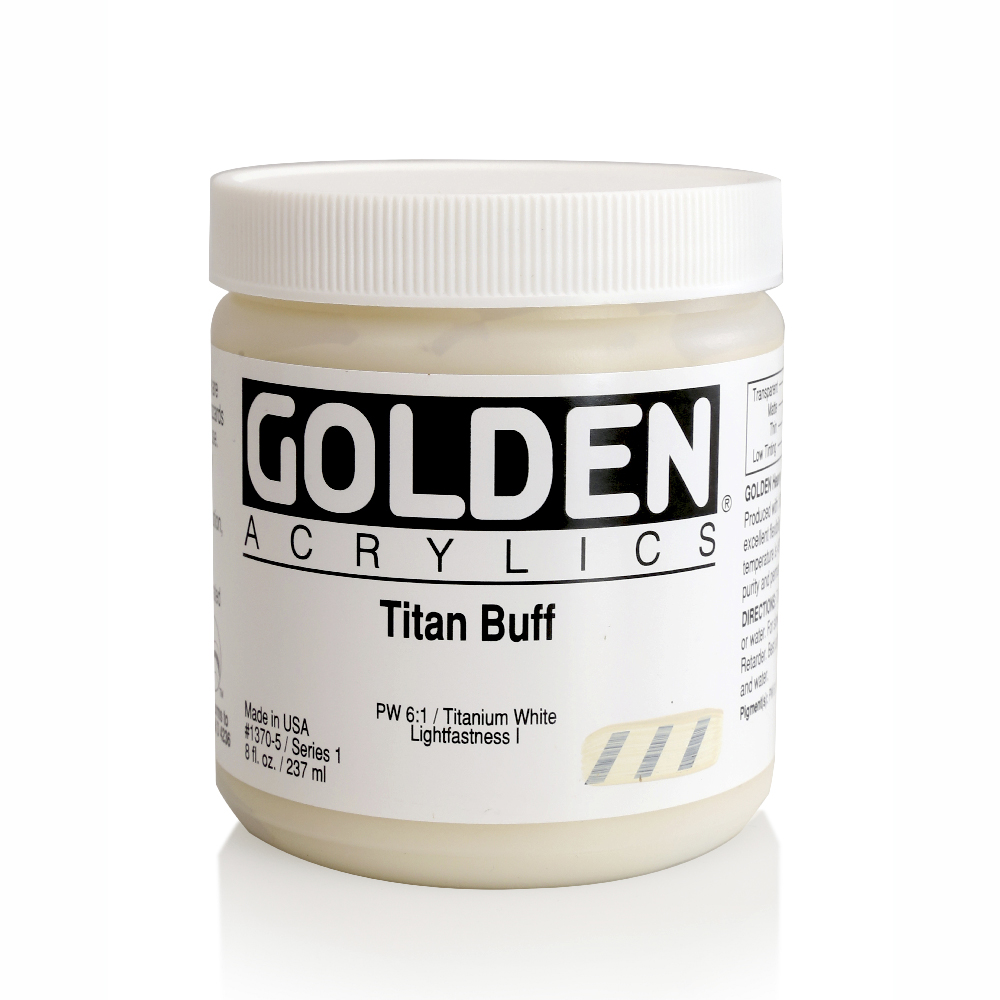 Golden Acrylic 8 Oz Titan Buff