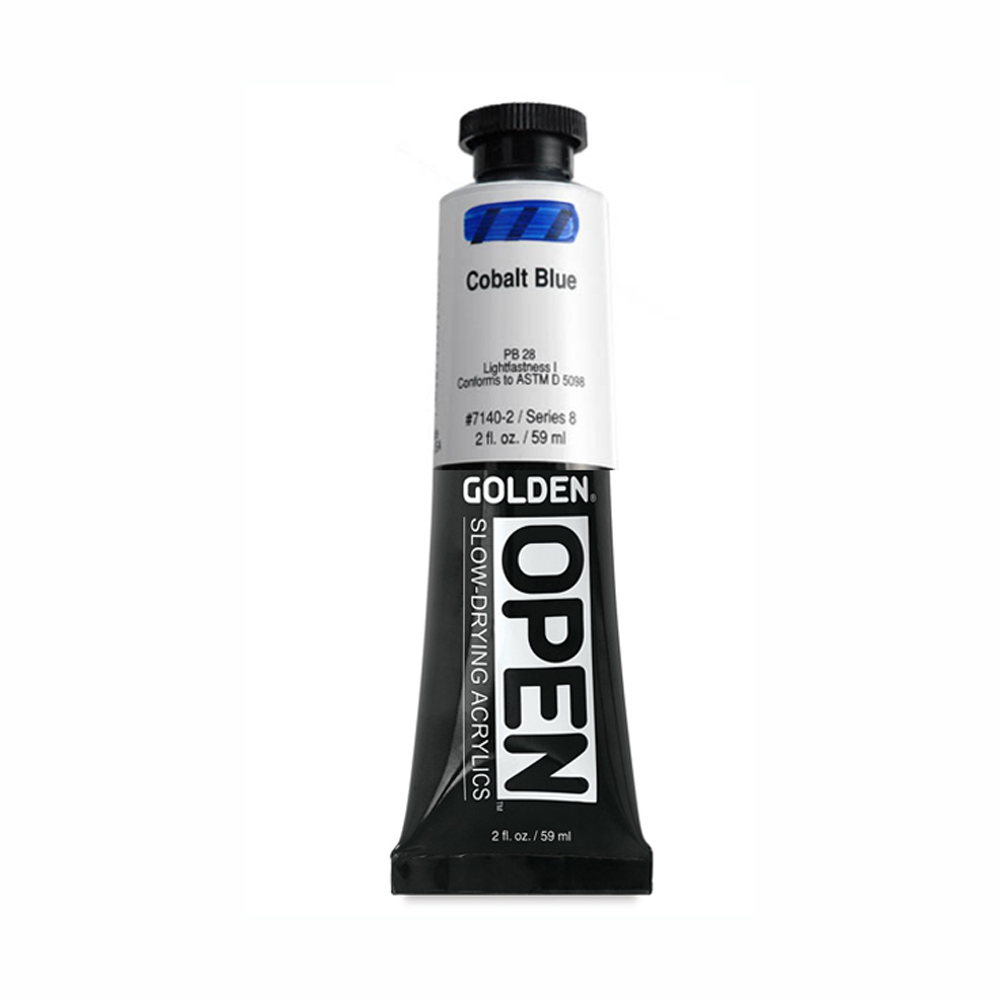 Golden Open Acryl 2 Oz Cobalt Blue