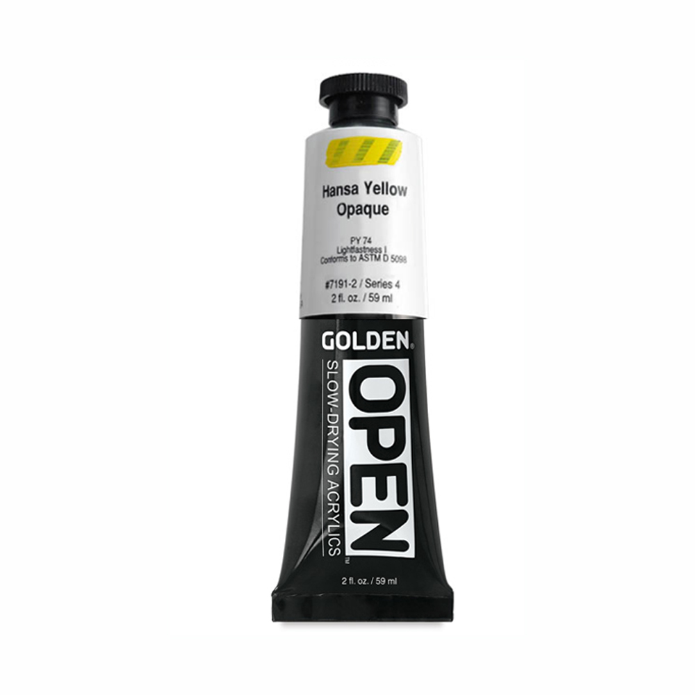 Golden Open Acryl 2 Oz Hansa Yellow Opaque