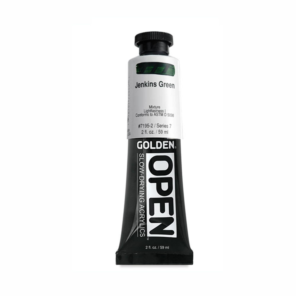 Golden Open Acryl 2 Oz Jenkins Green