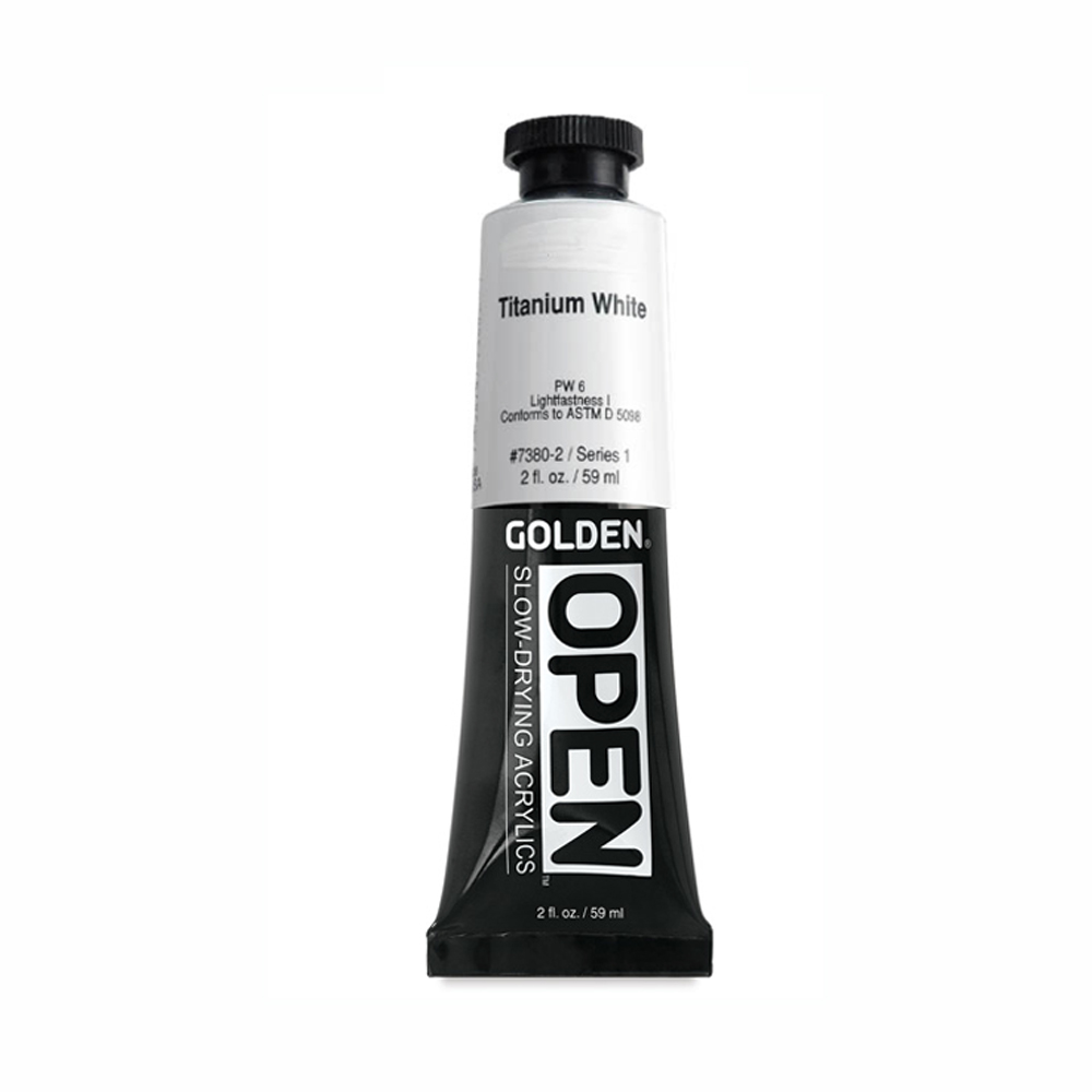 Golden Open Acryl 2 Oz Titanium White