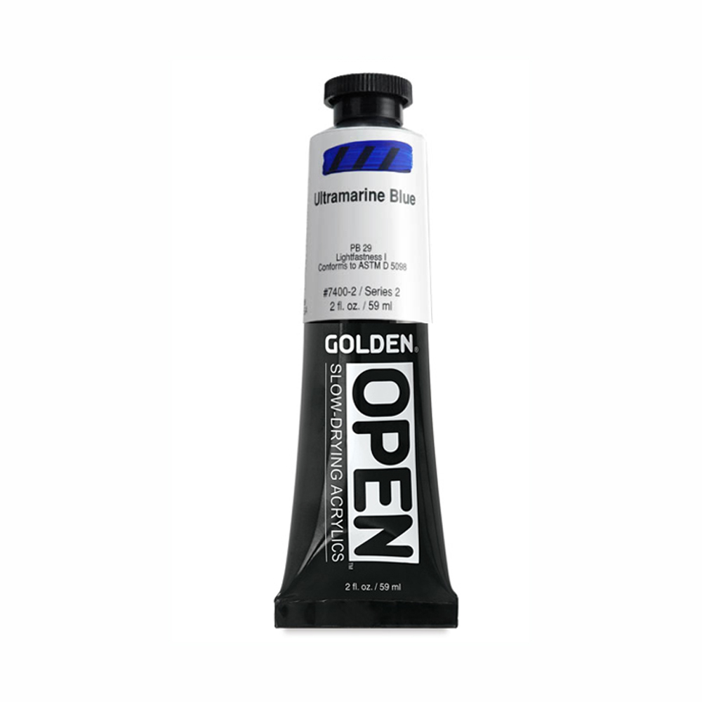 Golden Open Acryl 2 Oz Ultramarine Blue