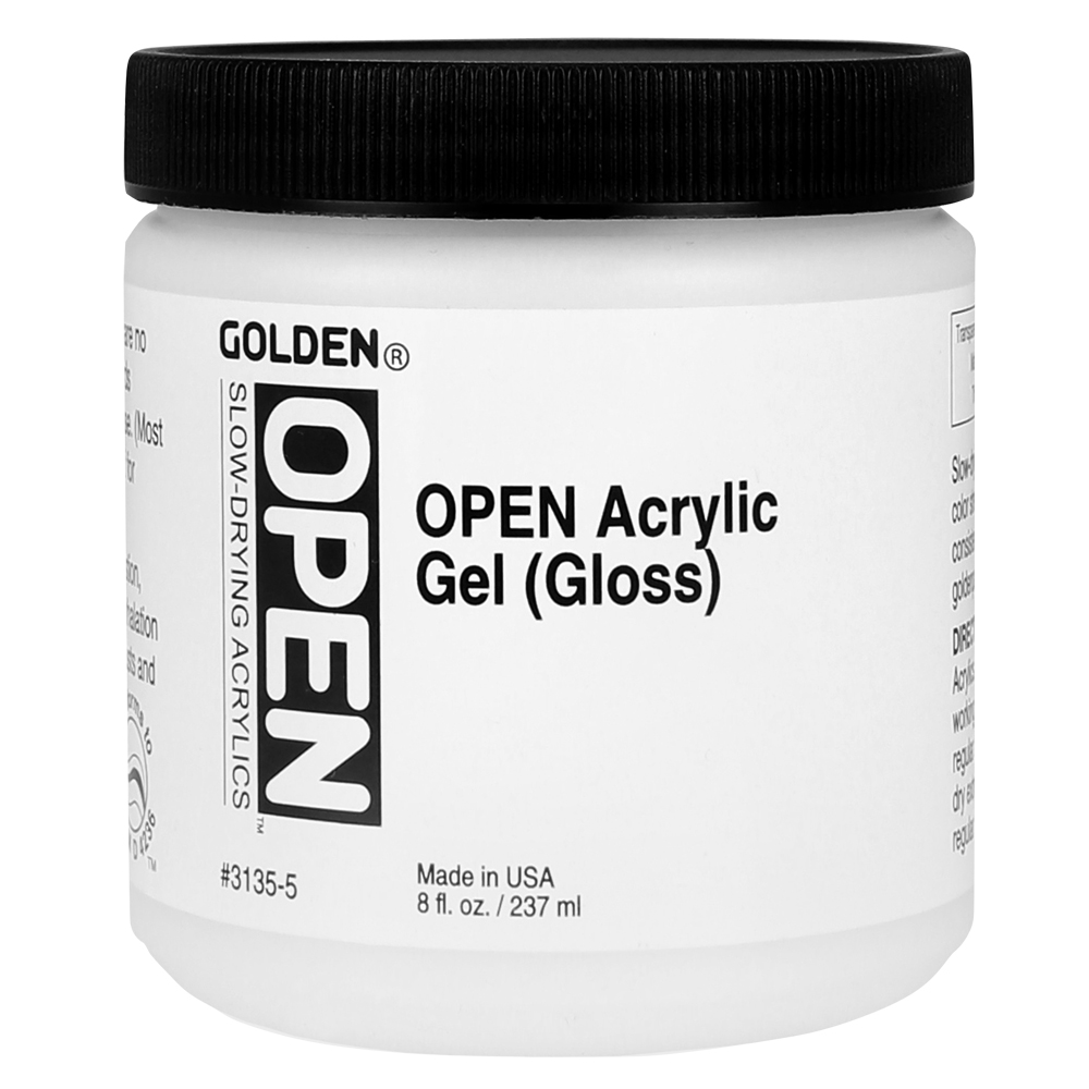 Golden Open Acrylic Gel 8 Oz Gloss