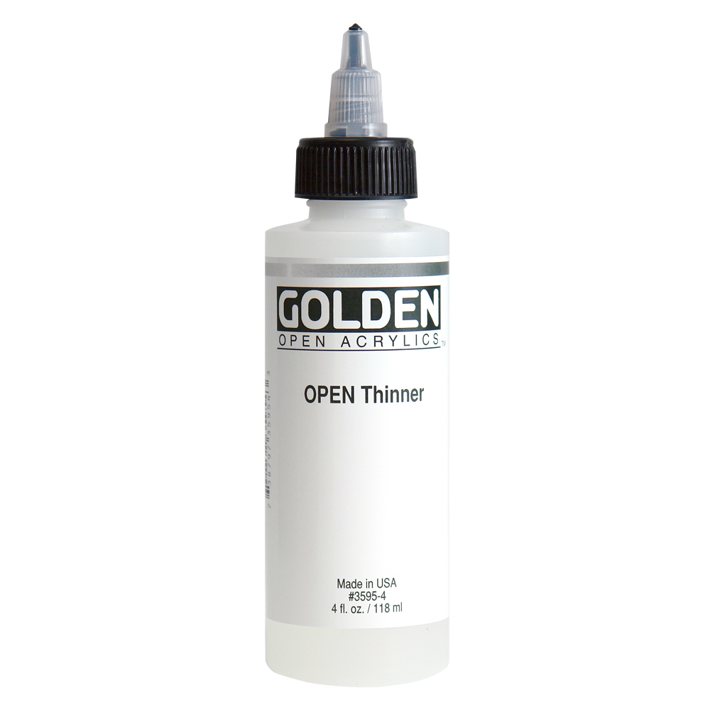 Golden Open Acrylic Thinner 4 Oz