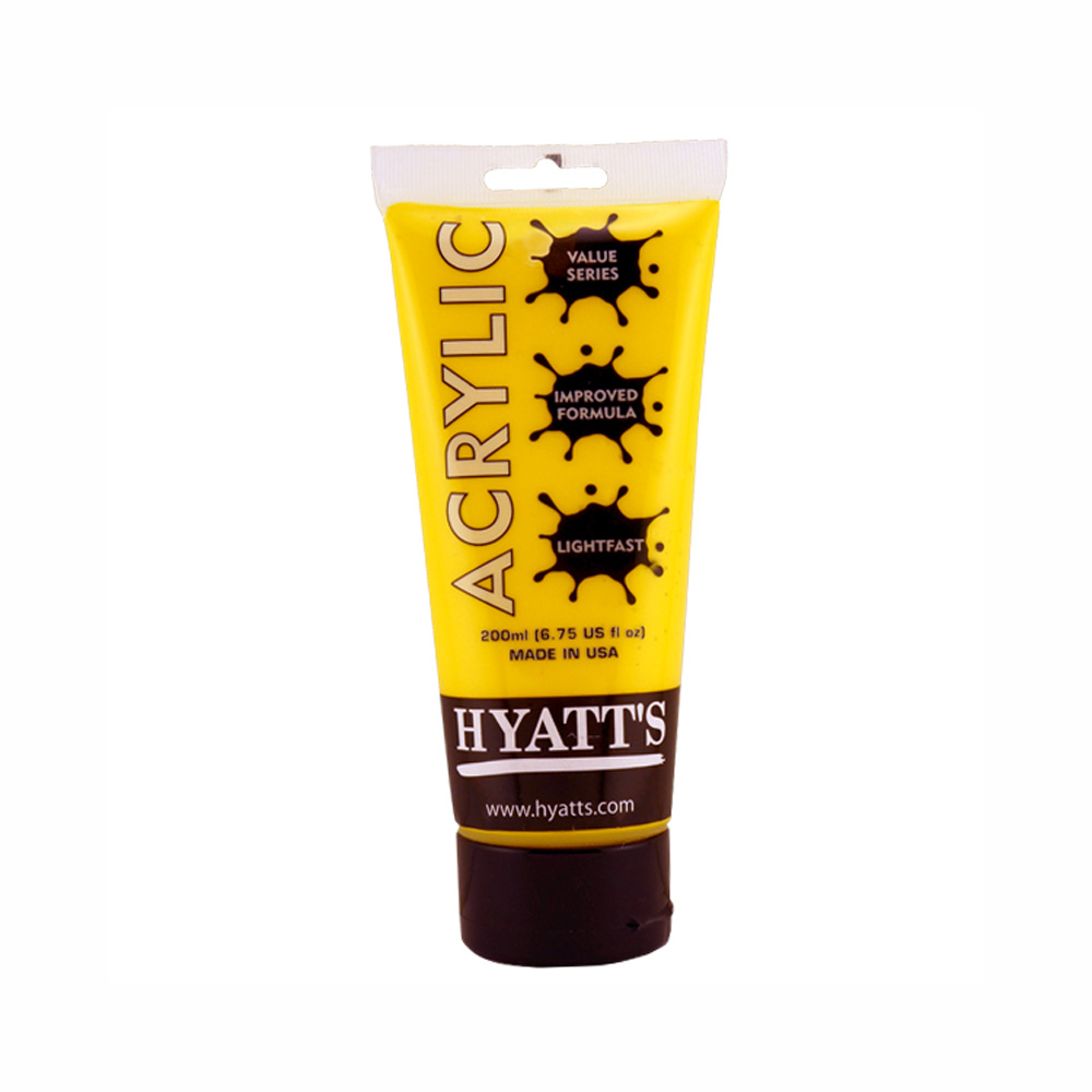 Hyatt's Acrylic 200Ml Cad Yellow Med