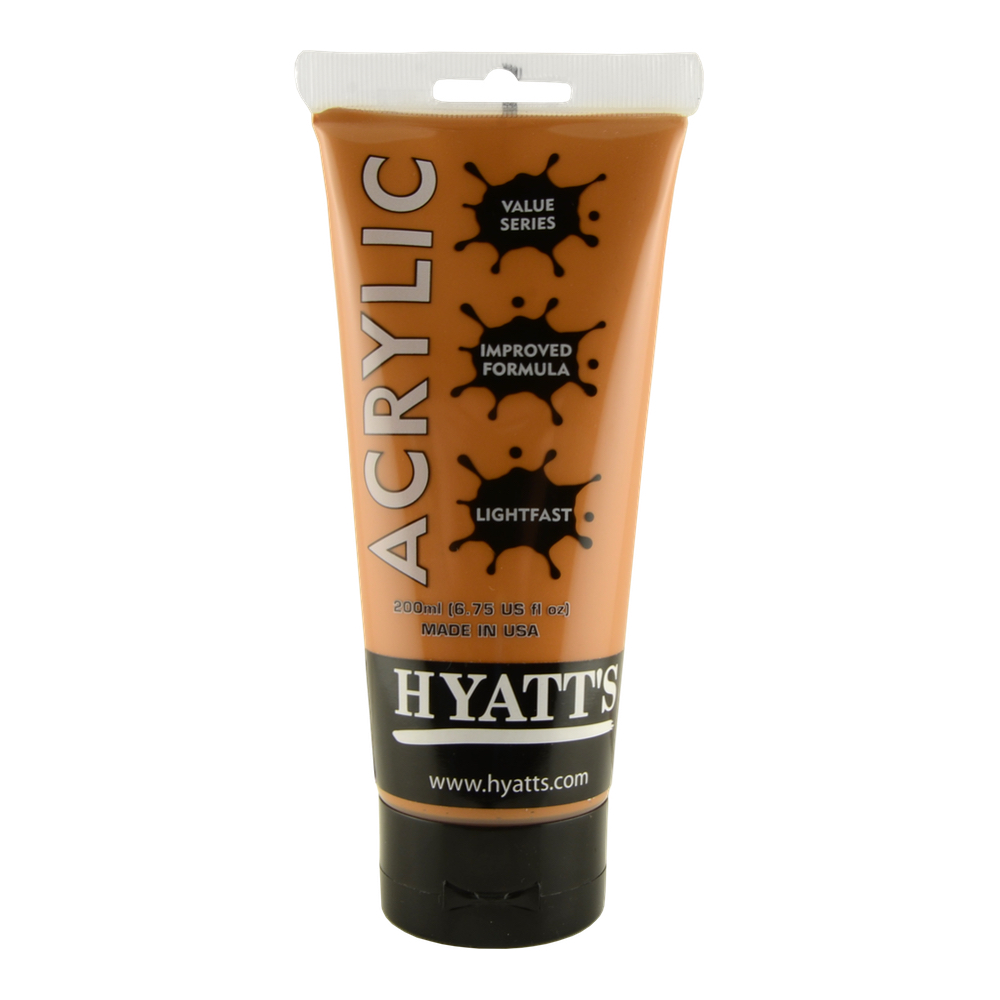 Hyatt's Acrylic 200Ml Raw Sienna