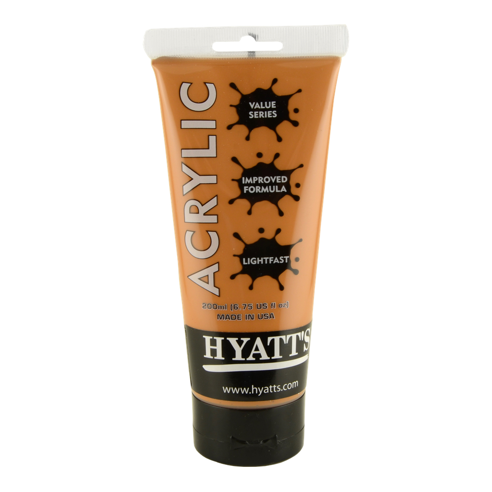 Hyatt's Acrylic 200Ml Iridescent Copper