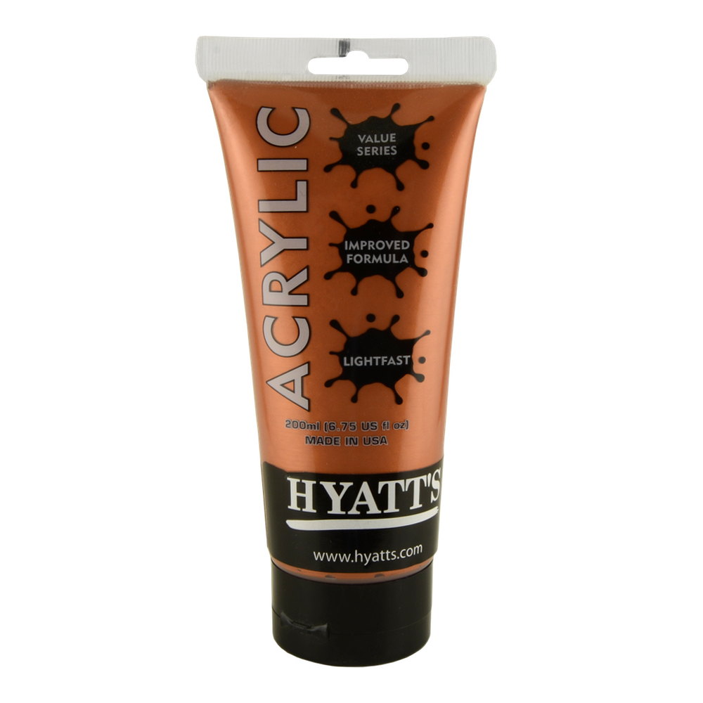 Hyatt's Acrylic 200Ml Iridescent Bronze