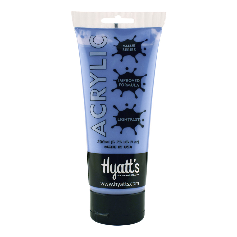 Hyatt's Acrylic 16 Oz Light Blue Violet