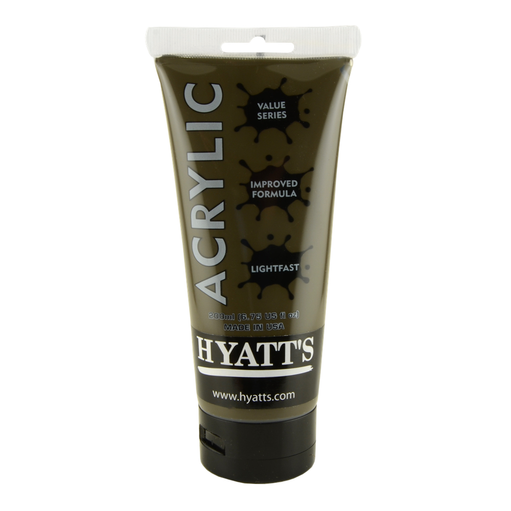Hyatt's Acrylic 200Ml Raw Umber