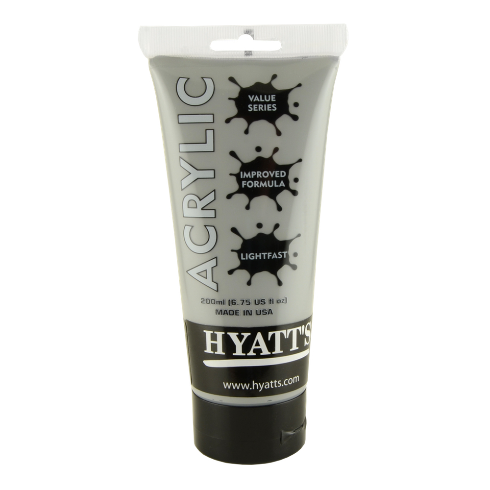 Hyatt's Acrylic 200Ml Neutral Gray