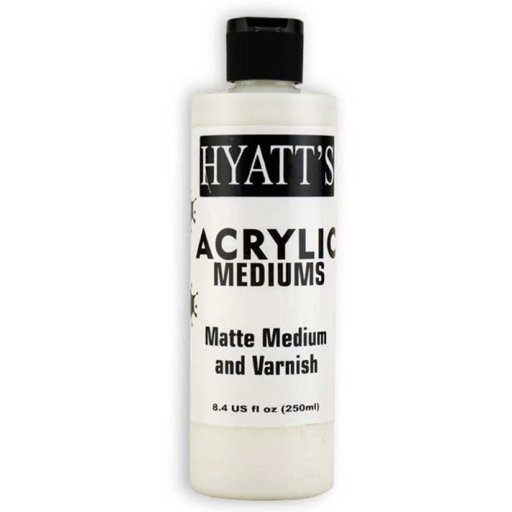 Hyatt's Acrylic 8 Oz Matte Varnish