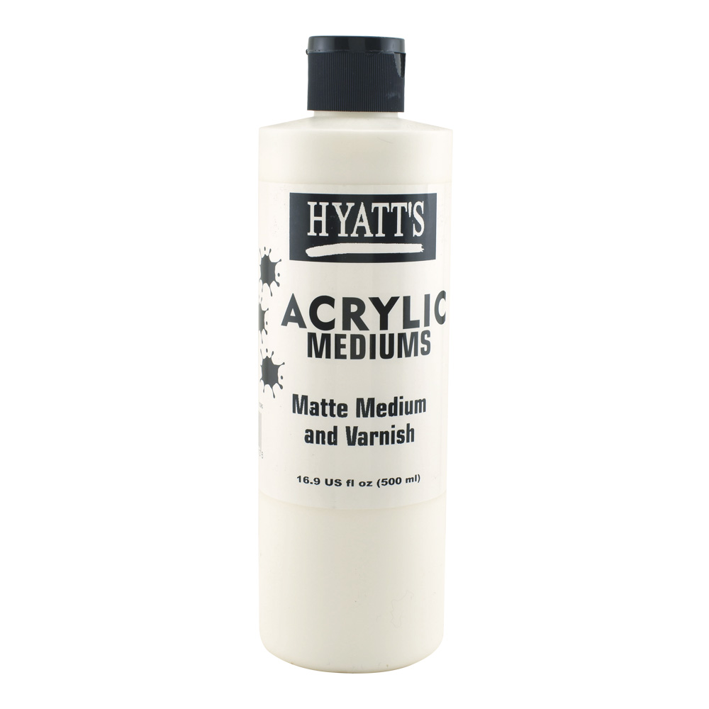 Hyatt's Acrylic 16 oz Matte Varnish
