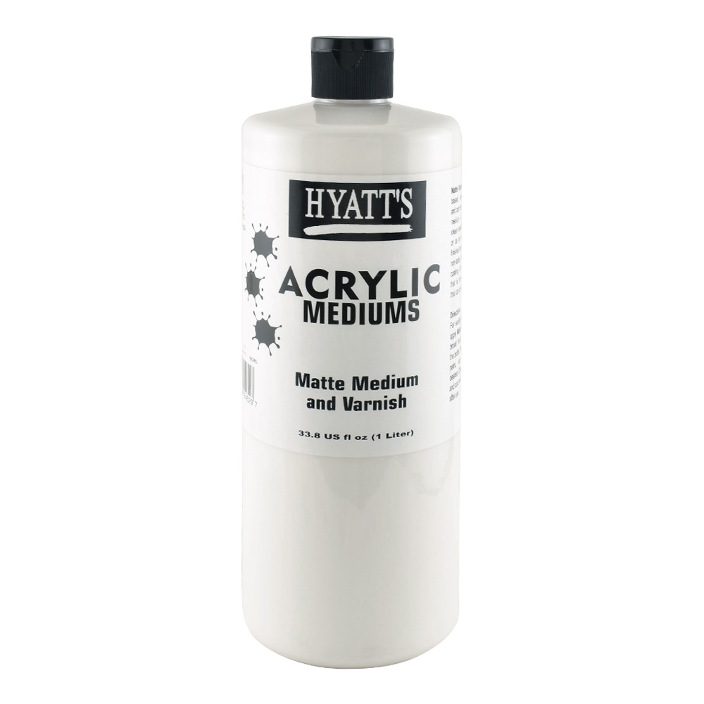 Hyatt's Acrylic 32 oz Matte Varnish
