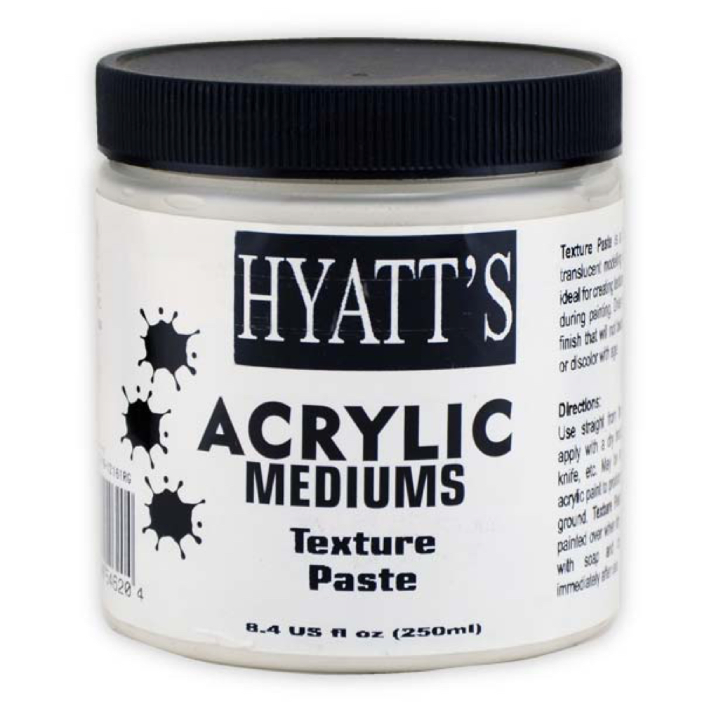 Hyatt's Acrylic 8 Oz Texture Paste