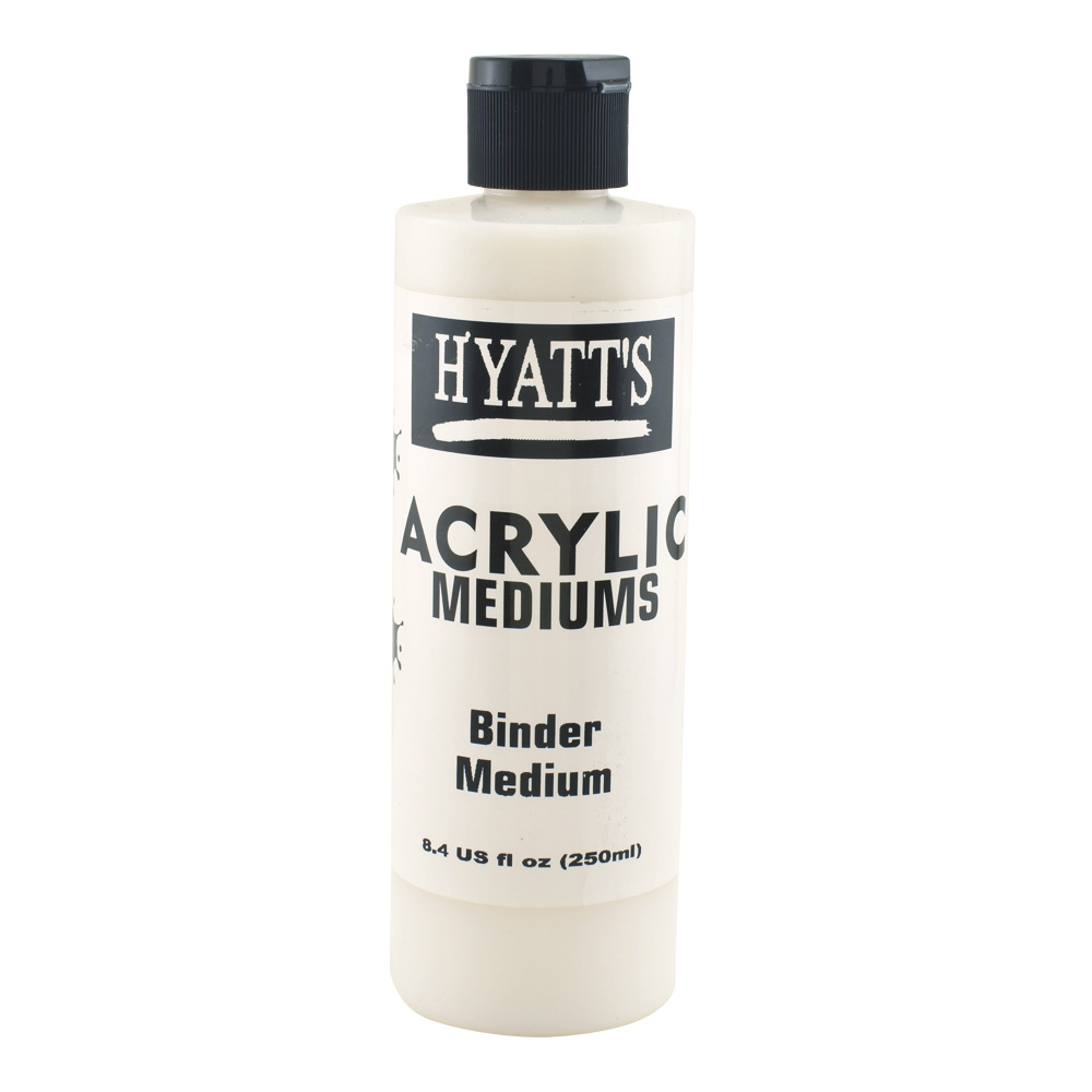 Hyatt's Acrylic 8 oz Binder Medium