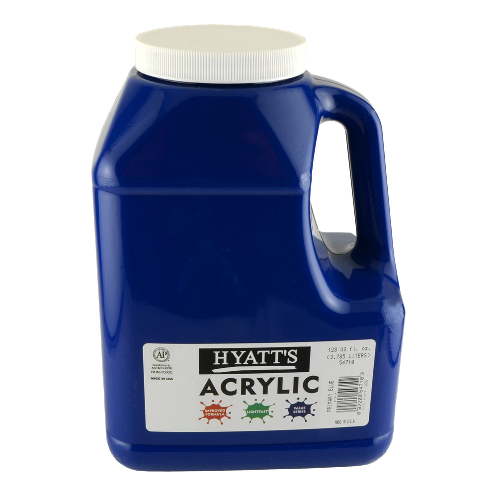 Hyatt's Acrylic Gallon Primary Blue
